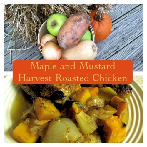 Maple and Mustard Harvest Roasted Chicken