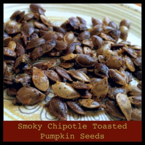 Smoky Chipotle Toasted Pumpkin Seeds