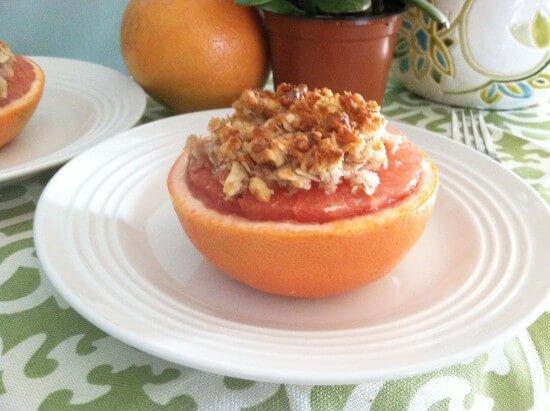 Baked Grapefruit Crisp from Primally Inspired