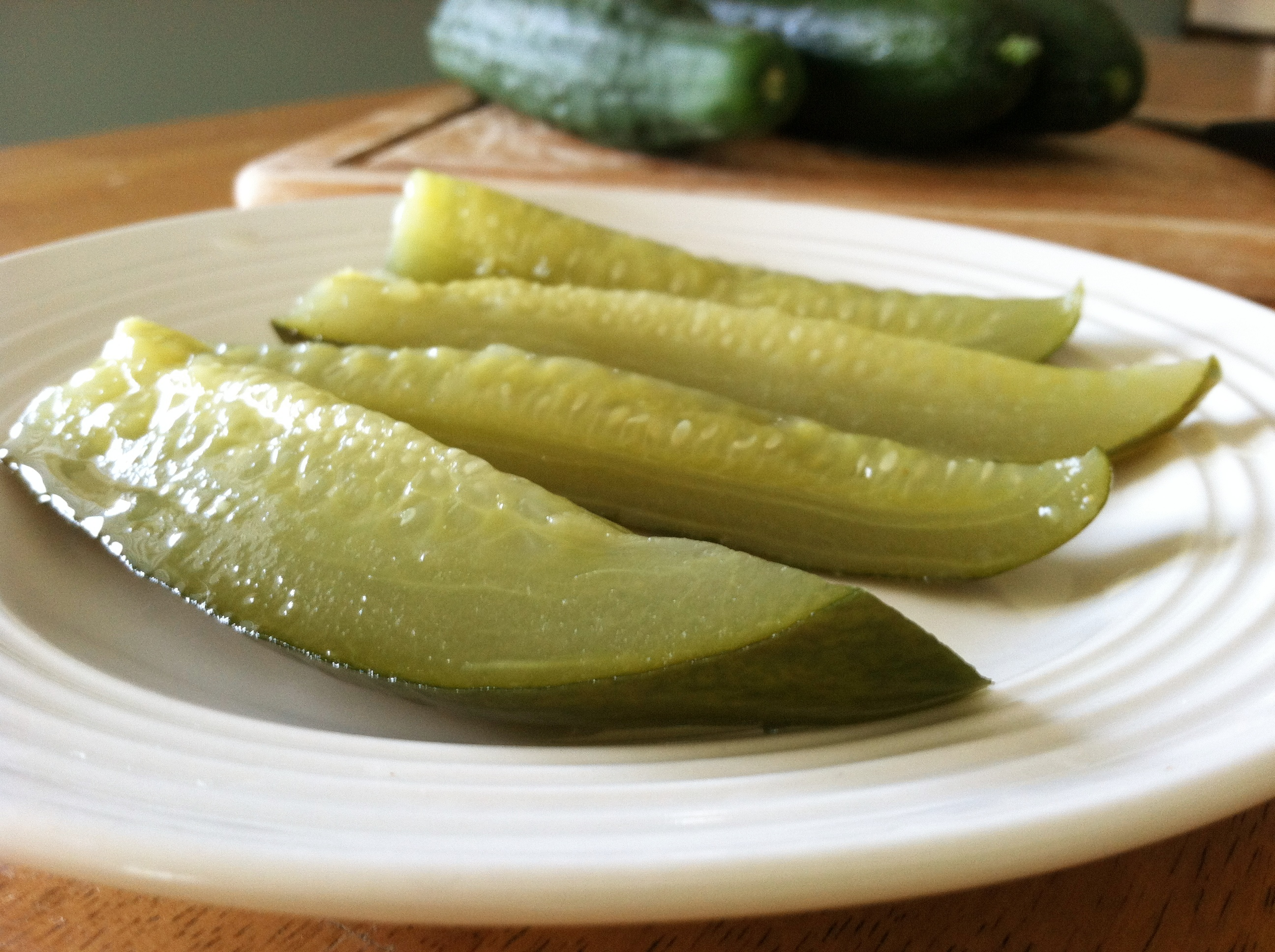Easy Homemade Pickles Recipe - Primally Inspired