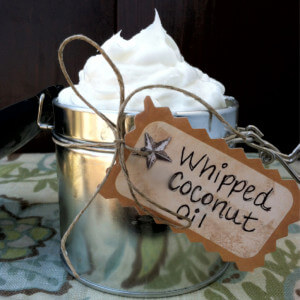 Friday Favorites: How To Make and Uses for Whipped Coconut Oil
