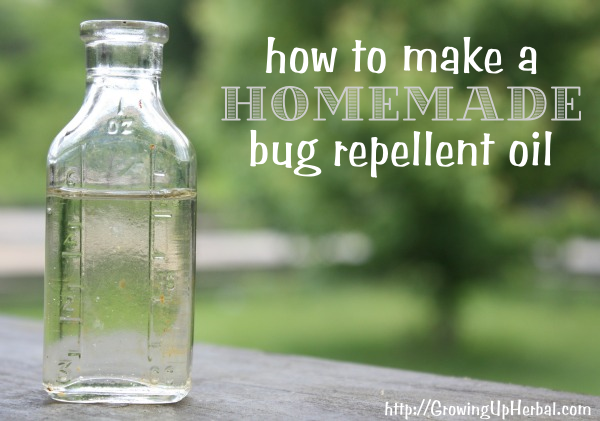 Favorite Things: How to Make Homemade Bug Repellent Oil ...