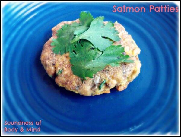 Salmon Patties (Grain, Dairy, Nut Free)