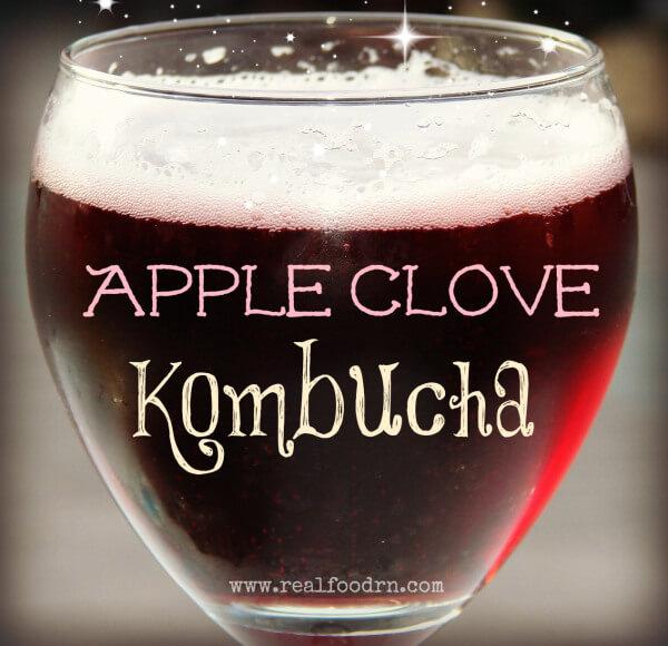 Apple-clove-kombucha