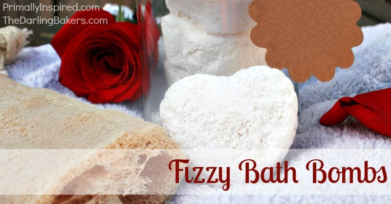 Fizzy Bath Bombs Recipe | PrimallyInspired.com