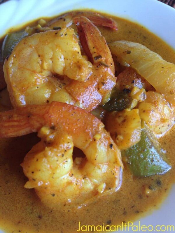 Jamaican Curry Shrimp from Jamaican It Paleo
