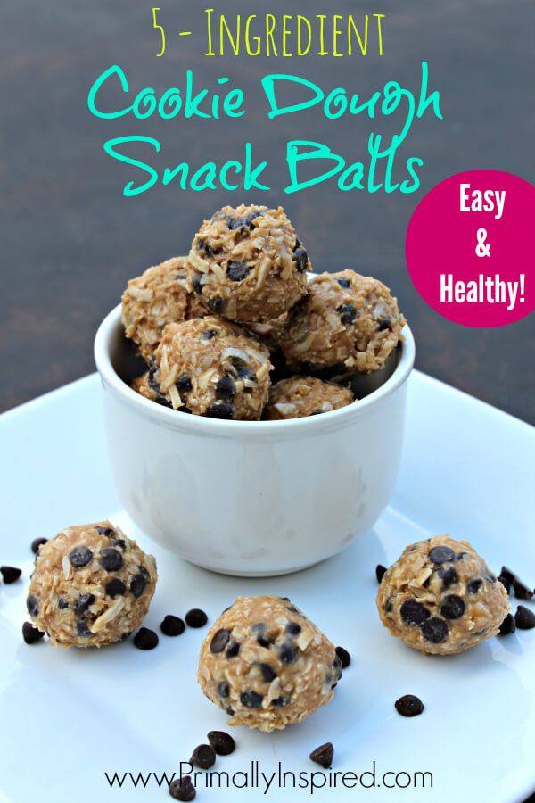 Cookie Dough Snack Balls from Primally Inspired