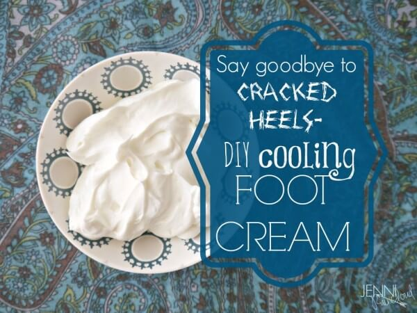 Homemade Lotion Recipes - cooling foot cream