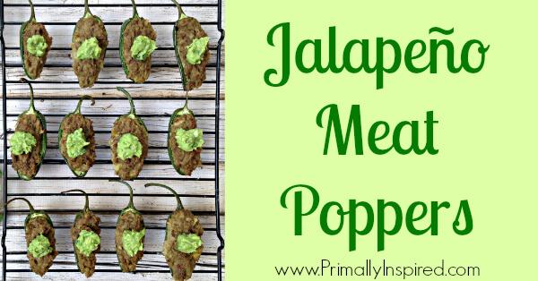 Jalapeño Meat Poppers via Primally Inspired (Paleo)