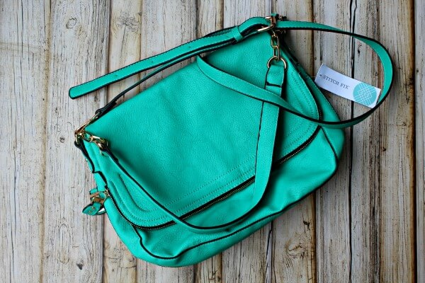 August Stitch Fix Review - Urban Expressions Booker Fold Over Crossbody Bag