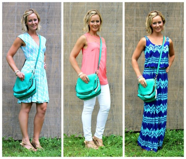 August Stitch Fix Urban Expressions Crossbody Bag in Teal Green via Primally Inspired