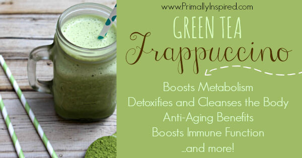 Green Tea Frappuccino from Primally Inspired
