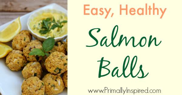 Salmon Balls from Primally Inspired (Paleo, Gluten Free)