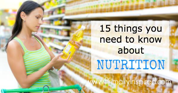 true nutrition advice via Primally Inspired