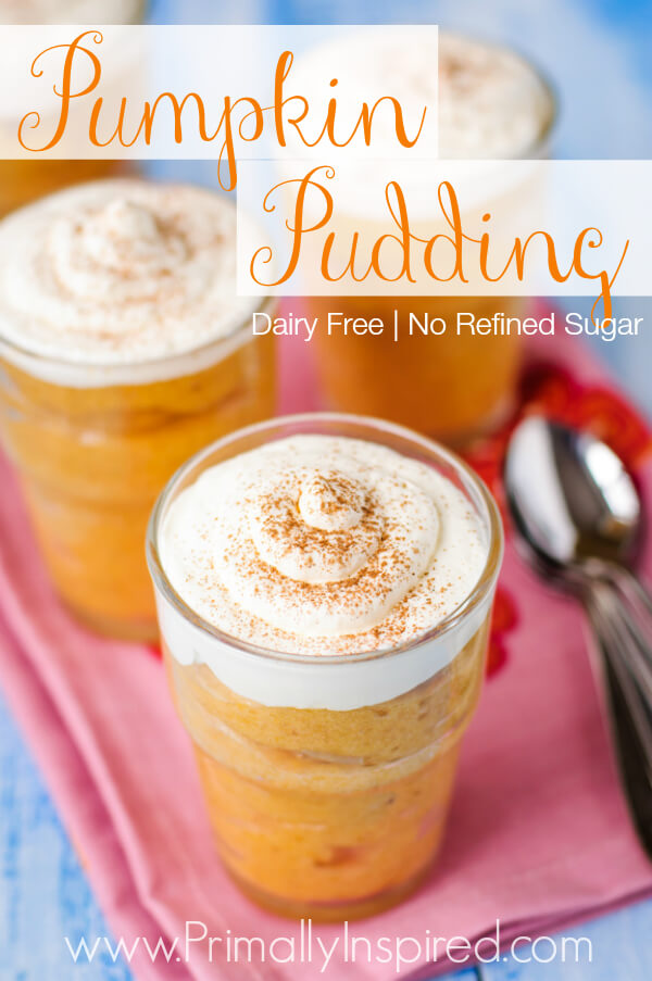 Pumpkin Pudding by Primally Inspired (Dairy Free)