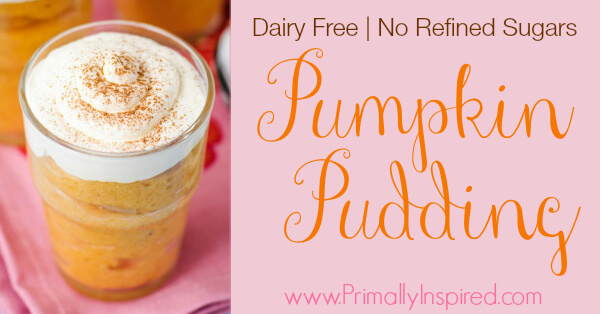 Paleo Pumpkin Pudding from Primally Inspired (Dairy Free)