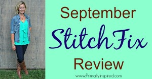 September Stitch Fix Review from Kelly at Primally Inspired