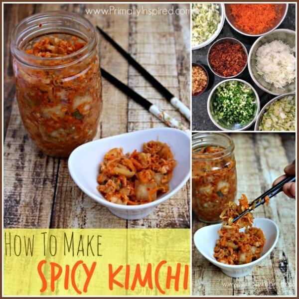 How To Make Kimchi (my Mom's famous spicy Kimchi recipe!) via Primally Inspired