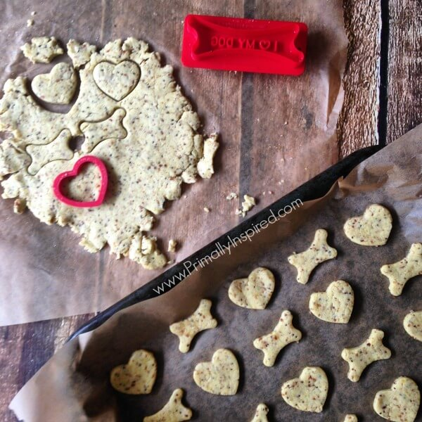 Homemade Grain Free Healthy Dog Treats (Gluten Free) by Primally Inspired