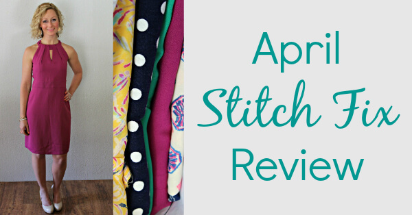 April Stitch Fix Review from Kelly at Primally Inspired