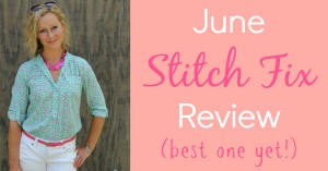 June Stitch Fix Review (best one yet!) - Kelly at Primally Inspired #stitchfix