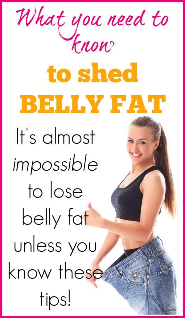 How to lose fat around the belly