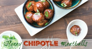 Honey Chipotle Meatballs - these are a huge winner! #paleo #glutenfree via Primally Inspired