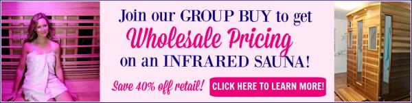 Infrared Sauna Group Buy Blog Horizontal Ad