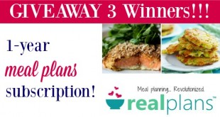 Real Plans Review and Giveaway
