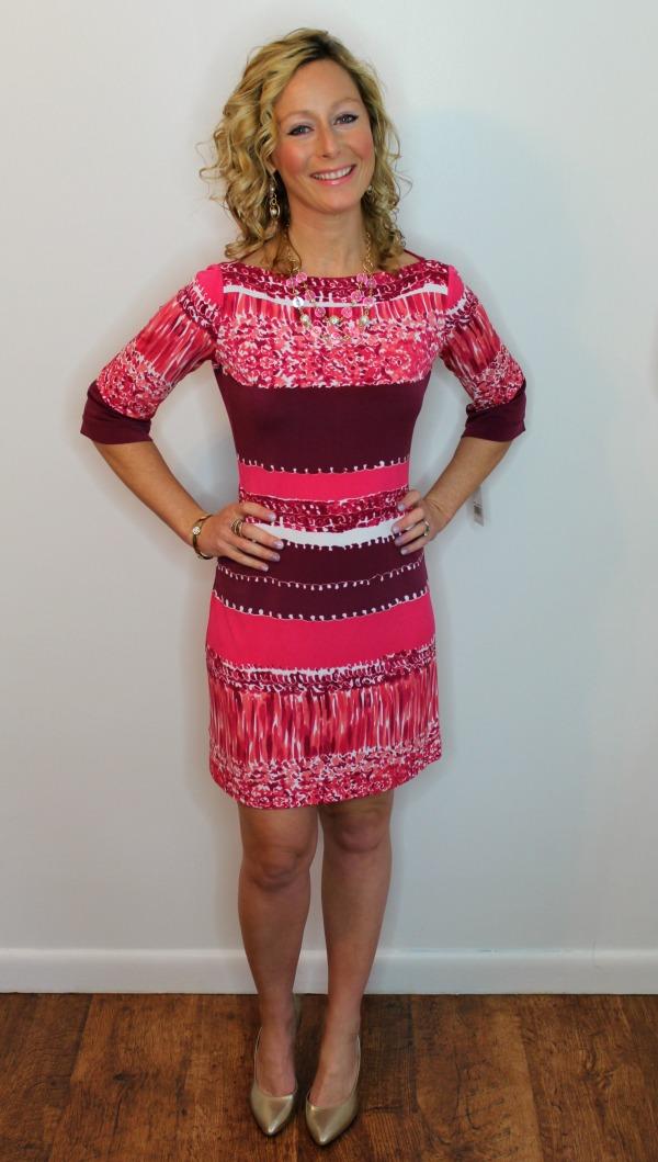 Donna Morgan Calvin Dress