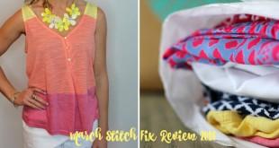 March Stitch Fix Review 2016