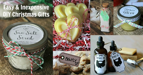 I love these simple but really nice diy christmas gifts!