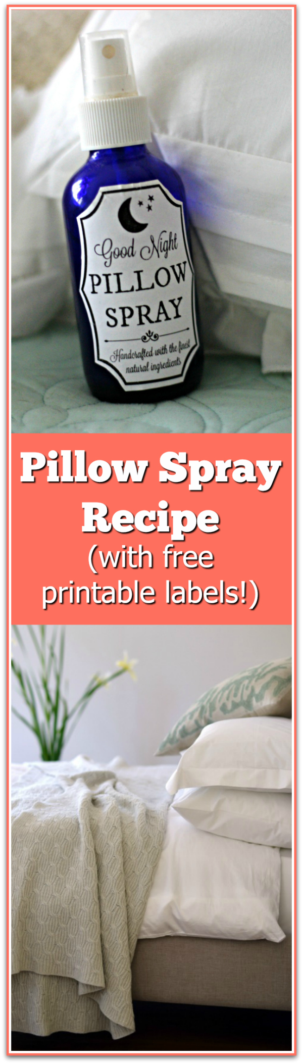 This pillow spray works like a charm! Love it! It gets kids to sleep, too.