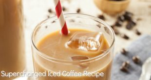 Supercharged Iced Coffee recipe for Fat burning and hormone balance