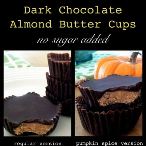 Dark Chocolate Almond Butter Cups Recipe