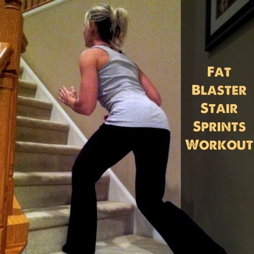 Tuesday Training: A Super Fast, Fat Blasting Stair Sprint Workout