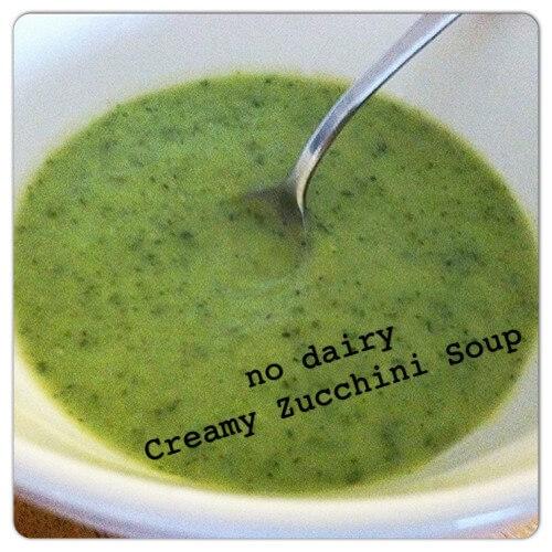 Easy Creamy Zucchini Soup