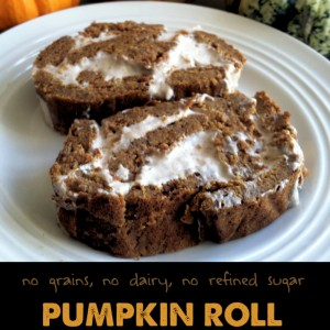 Paleo Pumpkin Roll from Primally Inspired