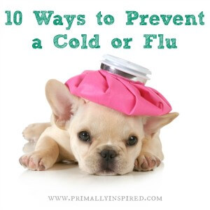 ways to prevent cold flu