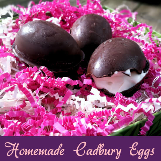 Homemade Cadbury Eggs - Primally Inspired