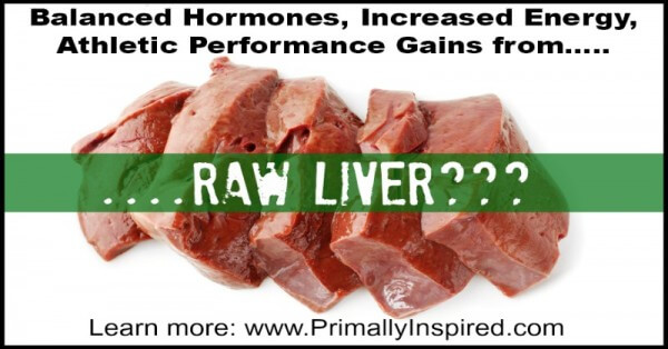 Frozen Raw Liver Pills | PrimallyInspired.com