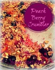 Peach Berry Crumble (Grain Free)