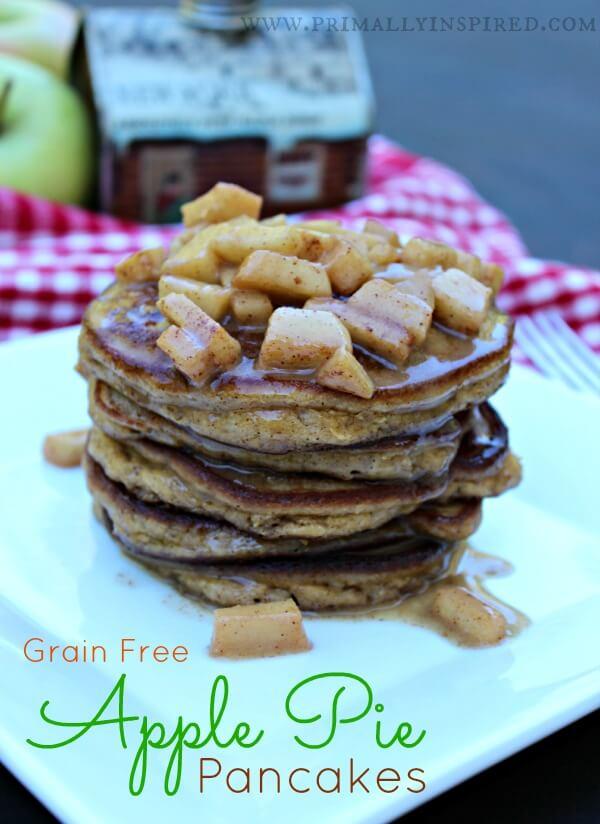 Grain-Free Apple Pie Pancakes