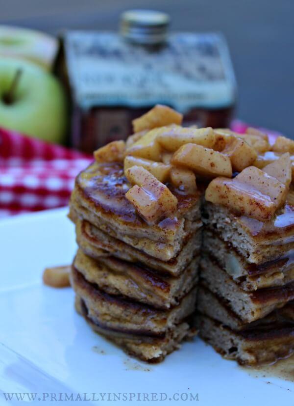 apple pie pancake bites