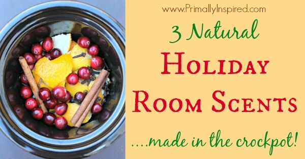 Natural Holiday Room Scents made in the Crockpot / Slow Cooker