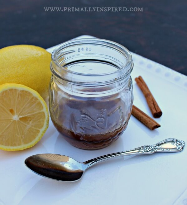 Homemade cold and cough syrup