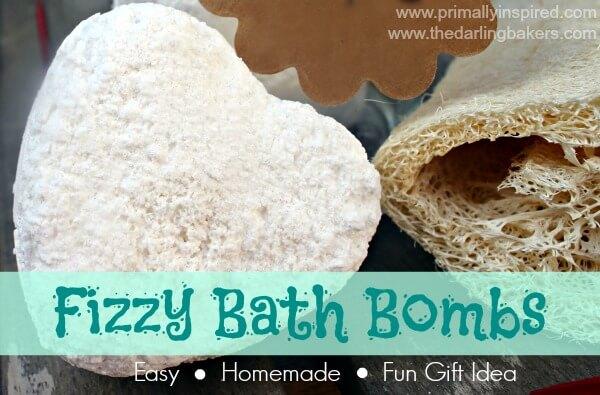 Fizzy Bath Bombs Recipe   PrimallyInspired.com