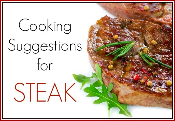 Cooking Suggestions for Grass-Fed Steak PrimallyInspired.com