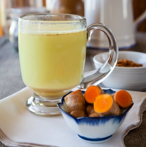 Turmeric Tea - liver detox tea recipe PrimallyInspired.com