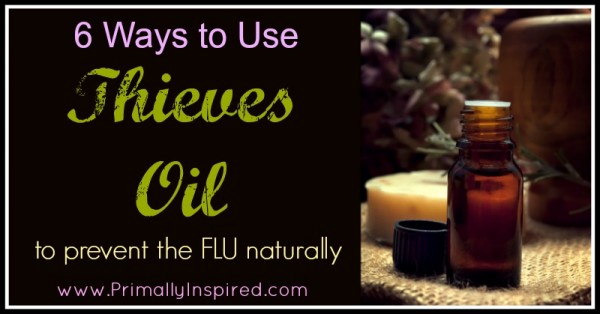 Ways To Use Thieves Oil To Prevent the Flu Naturally
